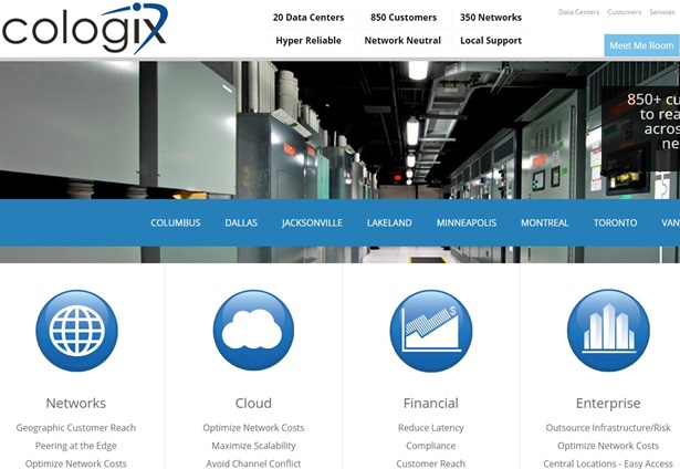 Network Neutral Data Center Company Cologix Inks Distribution
