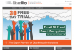 Cloud-based Information Security and Messaging Solutions Provider SilverSky Selects IBM\'s SoftLayer for Cloud Email Security