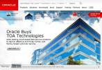 Multinational Computer Technology Corporation Oracle to Acquire Cloud Company TOA Technologies